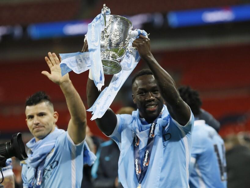 APTOPIX Britain Soccer League Cup