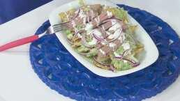Cocina de hoy: Chilaquiles con arrachera en salsa verde, en compañía de Emmanuel Palomares