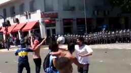 Se calientan los ánimos en funeral de Maradona