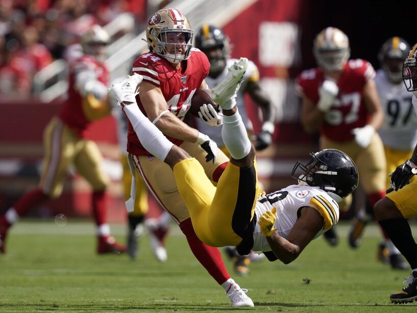 APTOPIX Steelers 49ers Football