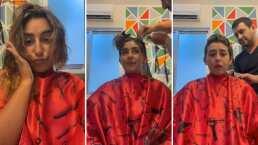 Romi Marcos se rapa y asombra con radical cambio de look