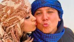 Edwin Luna comparte momentos inéditos de su luna de miel en Dubai