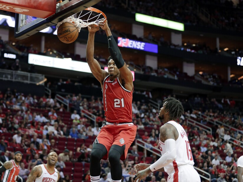 Houston Rockets 107-117 Portland Trail Blazers