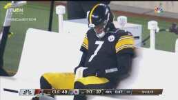¡Conmovedor! Roethlisberger rompe en llanto tras la eliminación de Pittsburgh