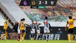 Raúl Jiménez presenció sexta derrota de Wolverhampton sin él