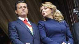 Video: Angélica Rivera le hace la competencia a Enrique Peña Nieto y demuestra su buen ritmo