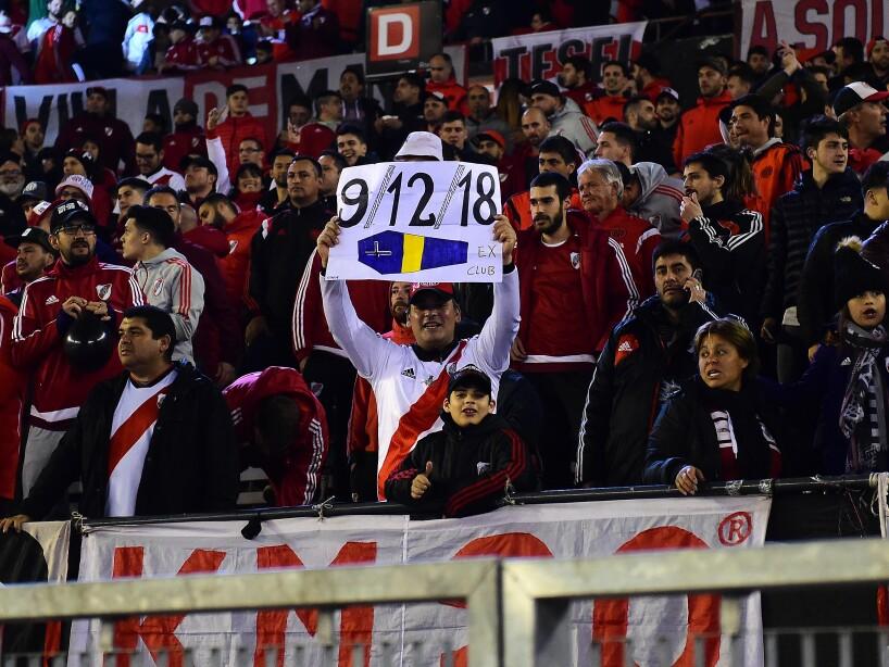 Aficionados y jugadores se alistan para el duelo de semifinales por la Copa Libertadores.