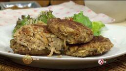 Cocina Chef Oropeza ´Tortitas de queso, quinoa y manzana´