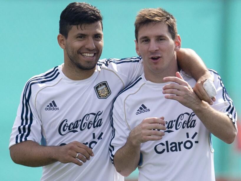 Lionel Messi, Sergio Aguero