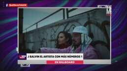 J Balvin se convierte en el artista con más números 1 en Billboard