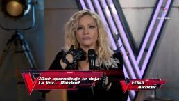 Erika es eliminada de La Voz... México