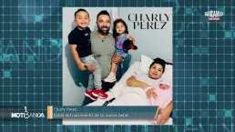 Charly Pérez se convirtió en papá por tercera vez