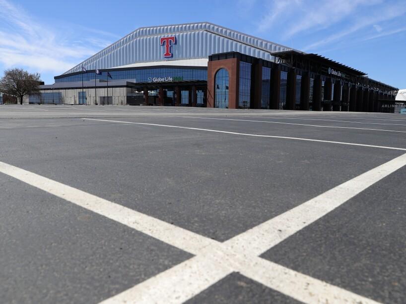 Virus Outbreak MLB Empty Ballparks Baseball