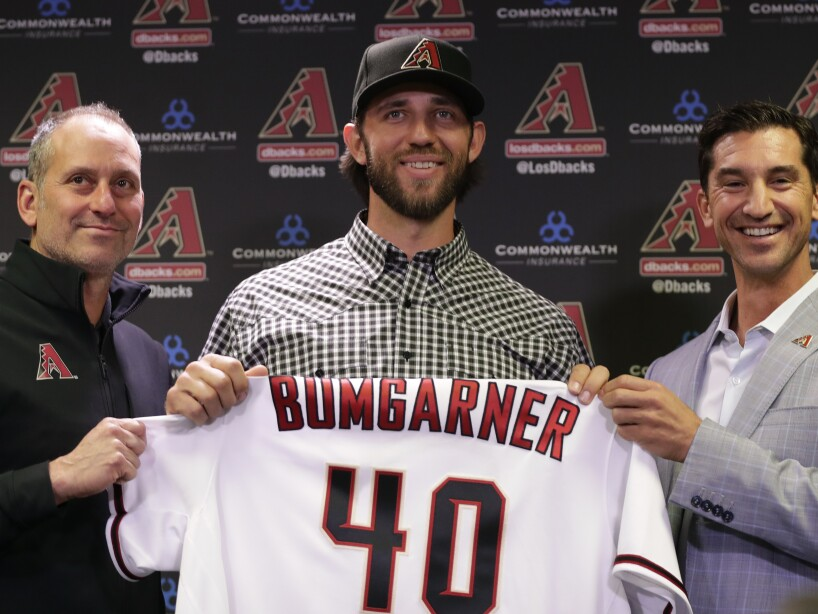 Diamondbacks Bumgarner Baseball