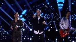 Reik y Maluma estrenan en México su éxito 'Amigos con derechos' en el escenario de La Voz… México