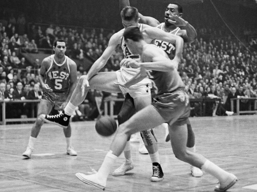 NBA All Star Game 1964