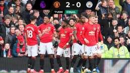 ¡Manchester es rojo! Con regalos de Ederson, el United vence al City