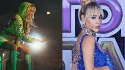 Tremendo 'concierto' armó Danna Paola en su camerino, hasta tuvo bailarines