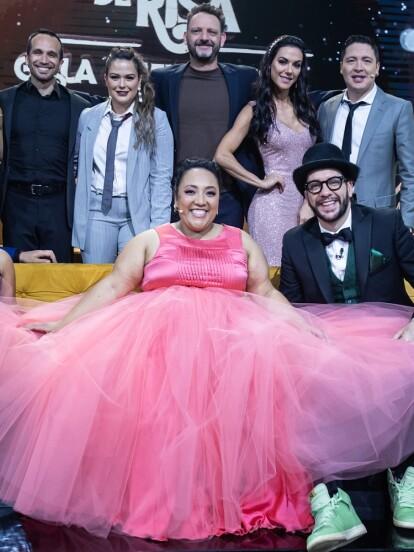 Michelle Rodríguez es una de las integrantes de la familia disfuncional que impactó con sus looks en cada programa. Rumbo al gran final de Me Caigo de Risa Gala Disfuncional te mostramos sus vestidos más impactantes.