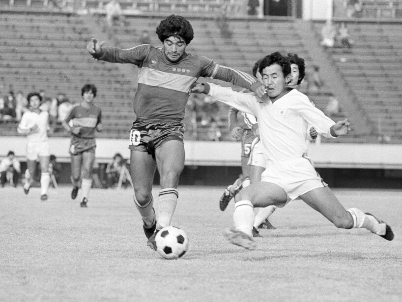 Diego Maradona Action