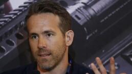 Ryan Reynolds recuerda a Trump en la presentación de 'Deadpool 2' en México