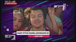 Harry Styles celebra el primer aniversario de su disco 'Fine Line'