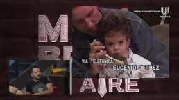 Así se veía José Eduardo Derbez, a los 2 años, en su primera entrevista con 'El Burro' Van Rankin