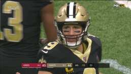 Cinco touchdowns de Drew Brees en el Superdome