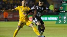 ¡No se cansaron de fallar! Tigres y Pachuca empataron sin goles