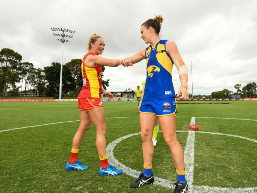 AFLW Rd 6 - West Coast v Gold Coast