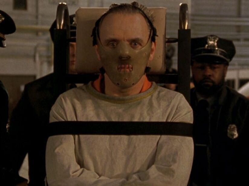 2. Hannibal Lecter: Anthony Hopkins es el doctor más malvado de The Silence of the Lambs, ¡eres la cena para él!