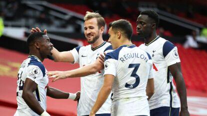 ¡Paliza! Tottenham golea al Manchester United