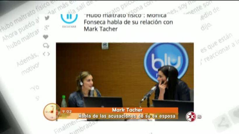 Mark Tacher habla de las acusaciones de su ex esposa HOY