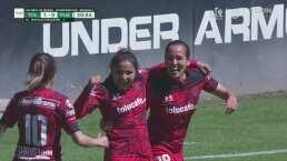 ¡Ella la empezó y la terminó! Natalia Mauleón hace el 1-0 del Toluca