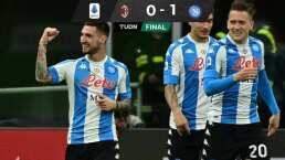 ¡Implacable! Napoli gana sin Chucky y está a dos puntos de Champions League