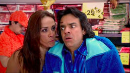 Federica le hace una escena de celos a Ludovico en el super