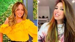 Andrea Legarreta se inspira en Thalía para debutar en TikTok: 'Caí en las redes'