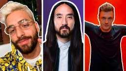 Maluma y Nick Carter son algunos de los famosos que se unieron a la 'Dinner Party' de Steve Aoki