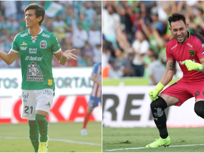 León vs Juárez, Liga MX.jpg