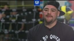 Andy Ruiz ya está listo para su regreso al ring en mayo
