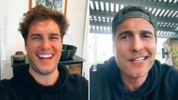 Diego Boneta se estrena en Tik Tok e imita a la perfección a Tom Cruise y Matthew McConaughey