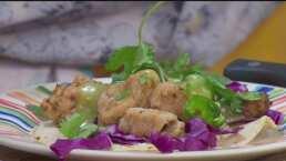 Cocina de hoy: Omar Fierro muestra la receta de unas deliciosas carnitas de atún