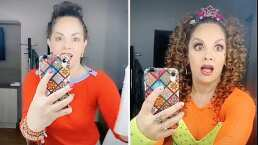 """Tatiana vuelve a vestirse como """"La Reina de los niños"""" para un reto en TikTok"""