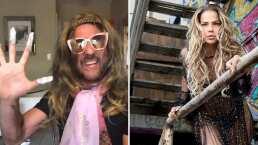Bobby Larios se disfraza de Niurka y hace parodia para Tik Tok