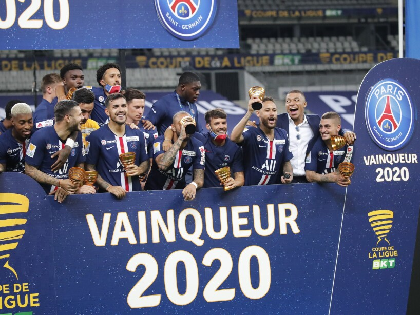 France Soccer French League Cup Final