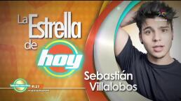 LA ESTRELLA DE HOY: Sebastián Villalobos