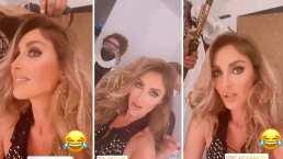 Anahí no pudo ocultar sus nervios previo al concierto virtual de RBD: 'Son una locura'