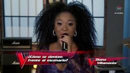 Diana Villamonte recibe halagos de Maluma