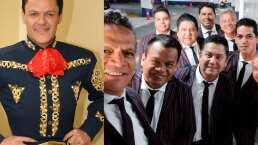Los Super Lamas y Pedro Fernández cantan 'La pelusa'