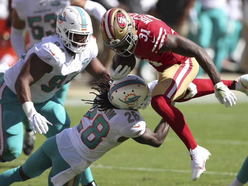 APTOPIX Dolphins 49ers Football